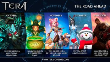 En Masse Entertainment Outlines Development Roadmap for TERA, Reveals First Details of Arsenal Update Coming October