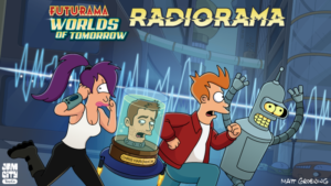 FUTURAMA Is Back! Jam City and Futurama: Worlds of Tomorrow Release New Double-Length Podcast Episode from the Show Creator, Now Available
