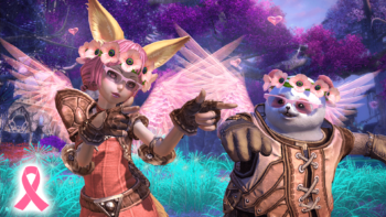 En Masse Entertainment Thinks Pink in TERA to Support Breast Cancer Awareness