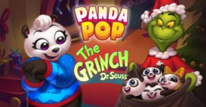 "Jam City Brings The Grinch To Mobile Gaming For The First Time Ever With Panda Pop ""Grinchmas"" Takeover"