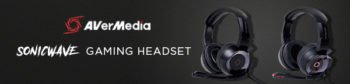 AVerMedia Announces Latest Addition to Audio Lineup, SonicWave Gaming Headsets