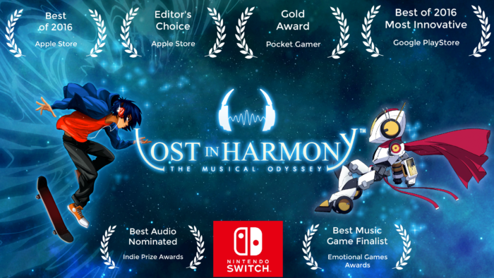 Critically-Acclaimed Musical Runner Lost in Harmony Coming