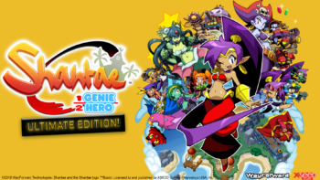 "Shantae: Half-Genie Hero ""Ultimate Day One Edition"" Dances onto Store Shelves; Now Available for Nintendo Switch at Select Retailers"