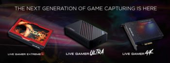AVerMedia Launches Live Gamer 4K and Live Gamer ULTRA, First Consumer Capture Cards to Enable 4K HDR Game Streaming
