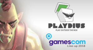 RSVP Gamescom 2018 | Play Outside the Box with Playdius Titles at Gamescom