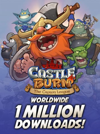Castle Burn Celebrates #1 Card Game Ranking and One Million Player Milestones with Free Giveaways