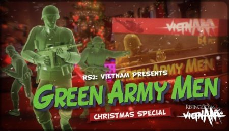 Rising Storm 2: Vietnam Goes Green with Toy Soldier Green Army Men Christmas Special