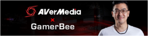 AVerMedia Signs Fighting Game Community Pioneer, GamerBee, to Promote its New LIVE STREAMER Streaming Lineup