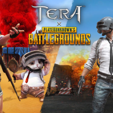 Drop into TERA x PLAYERUNKNOWN'S BATTLEGROUNDS Collaboration on March 5