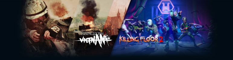 Killing Floor 2 and Rising Storm 2: Vietnam  Free this Week on Steam with First 2019 Updates