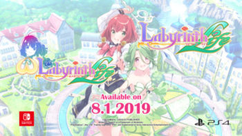 Omega Labyrinth Life and Labyrinth Life Busting onto Nintendo Switch™ and PlayStation®4 Globally on August 1