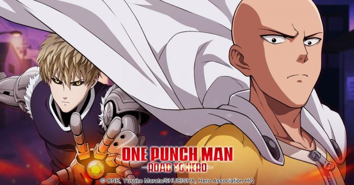 Oasis Games Launches the Official One-Punch Man Mobile Game