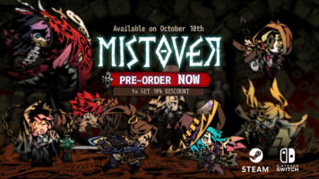 Meet the Cast of MISTOVER in New Gameplay Trailer and Join the Developers at San Diego TwitchCon