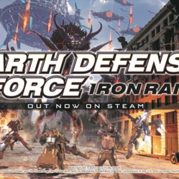 "Vicious Giant Insects and Aliens Return as  ""EARTH DEFENSE FORCE: IRON RAIN"" Launches  on Steam Today"
