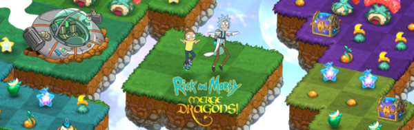Rick and Morty Get Schwifty in Zynga's Hit Game, Merge Dragons!