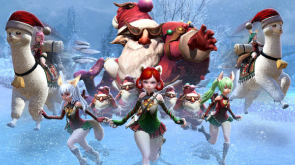 Ring in the New Year with 'The Yule War' for TERA on PC