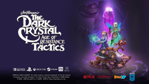 "En Masse Entertainment Releases ""Peer into the Crystal"" Jobs & Equipment Trailer for The Dark Crystal: Age of Resistance Tactics"