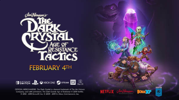The Dark Crystal: Age of Resistance Tactics Launches for PC and Consoles on February 4