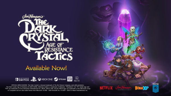 The Dark Crystal: Age of Resistance Tactics Out Now For PlayStation 4, Xbox One, Nintendo Switch, PC and Mac