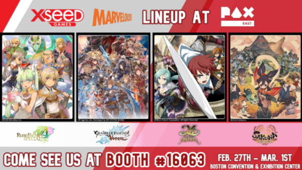XSEED Games to Feature Four Playable Titles for PAX East 2020