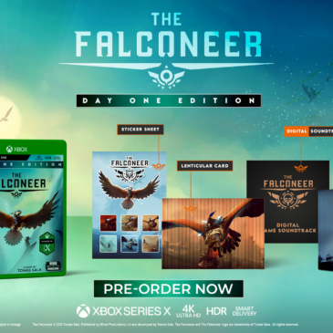 Open-World Air Combat RPG The Falconeer Available Day One on Xbox Series X