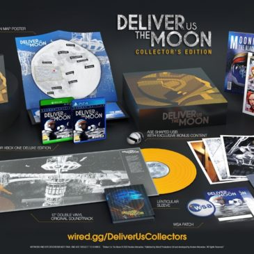 Deliver Us The Moon Collector's Edition Landing on The Wired Store in 2020