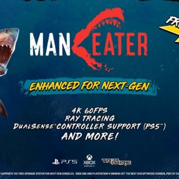 Maneater Evolves with Ray-Tracing, 4K 60 FPS and More Enhancements for Xbox Series X and PlayStation®5 Consoles