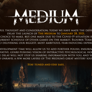 Psychological Horror Game The Medium Delays Launch to January 28, 2021 for  Xbox Series X|S and PC from Bloober Team