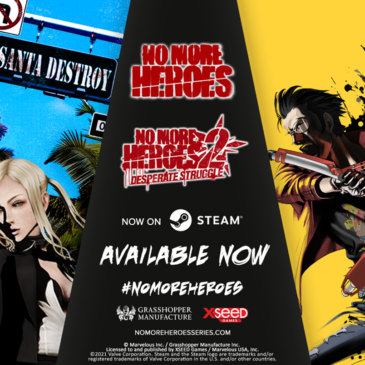 XSEED Games Launches No More Heroes and No More Heroes 2: Desperate Struggle for PC via Steam Today